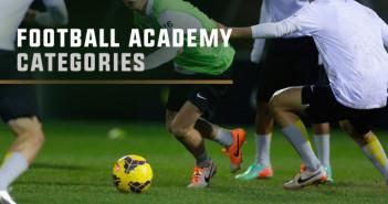 football academy categories