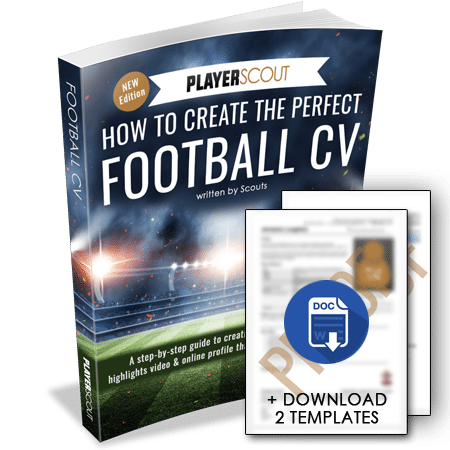 Download Football CV Template