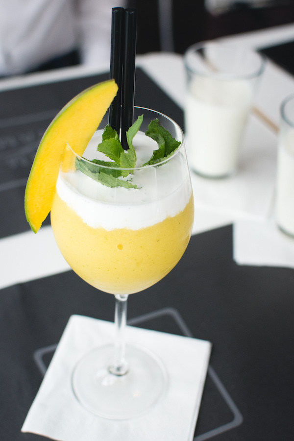 snacks for footballers mango smoothie