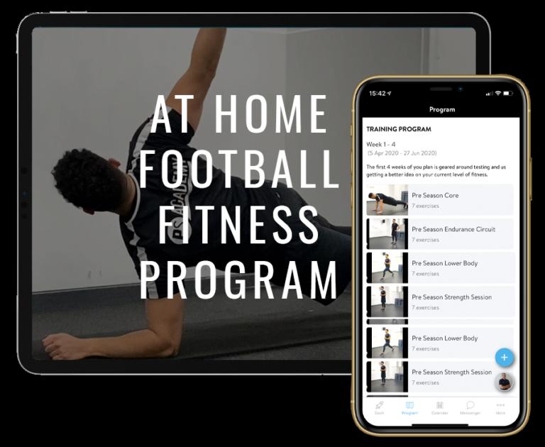 At Home Football Fitness Program