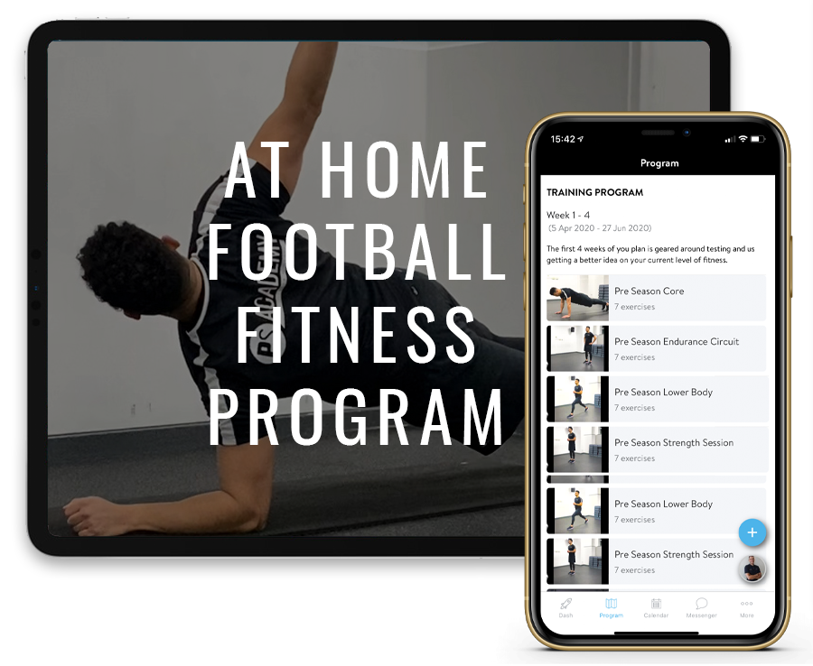 At Home Football Fitness Program